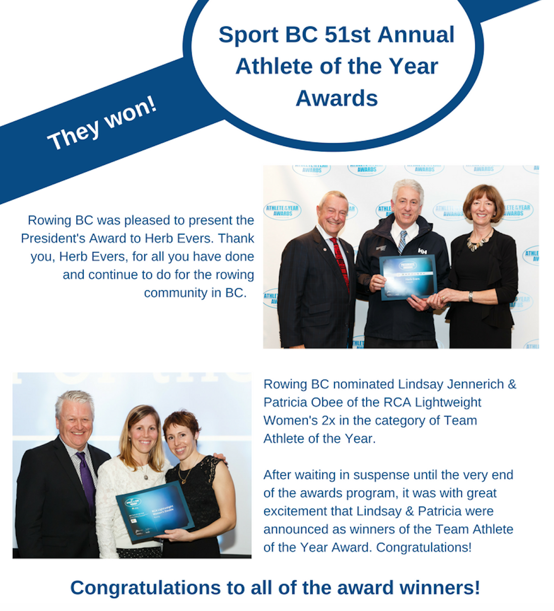 Sport BC 51st Annual Athlete Of The Year Awards