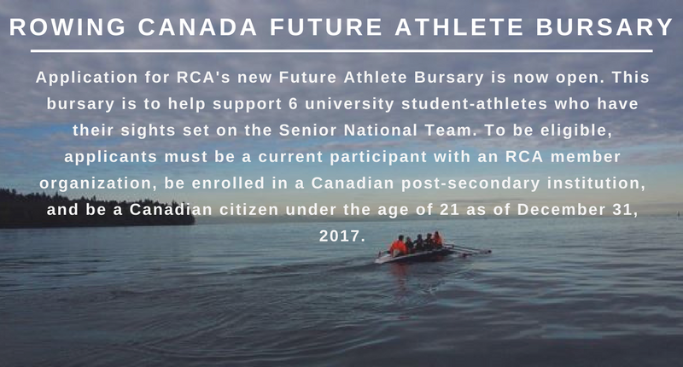Rowing Canada Future Athlete Bursary