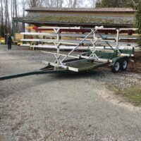 Rowng shell trailer for sale