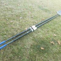 Concept2 Ultralight Big Blade Sculling Oars 35mm Blue Handles - Ideal for JW/LW